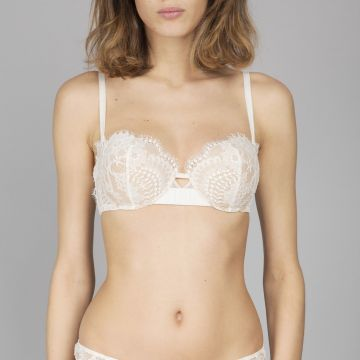 OUI LEJABY STRAPLESS BRA WITH REMOVABLE SHOUL