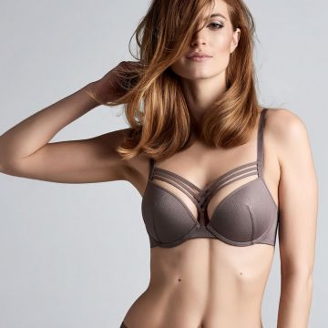 DAME DE PARIS WIRED PADDED PUSH UP BRA