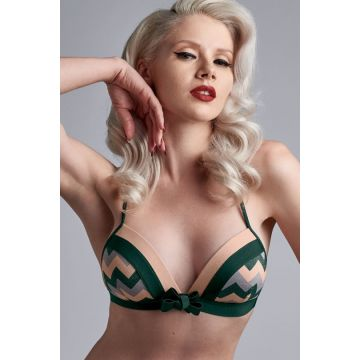 COURAGE UNWIRED PADDED TRIANGLE BRA