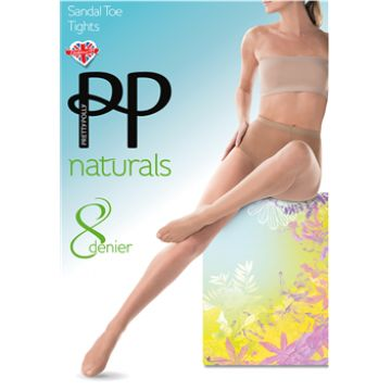 8D SANDAL TOE TIGHTS