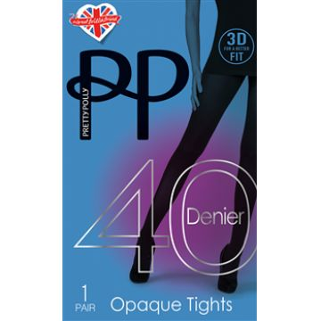40 DENIER 3D OPAQUE TIGHTS