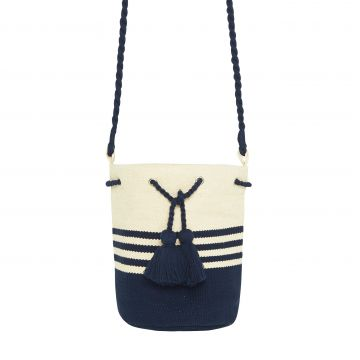 STRIPE BUCKET BAG