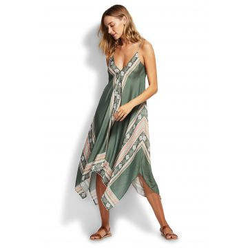 BALINESE RETREAT SCARF DRESS