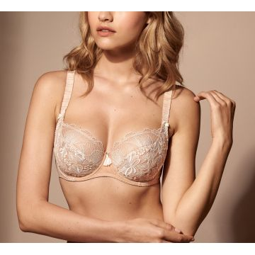 AGATHE UNDERWIRED LOW-NECKED BRA